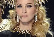 Madonna en Givenchy Haute Couture au Super Bowl