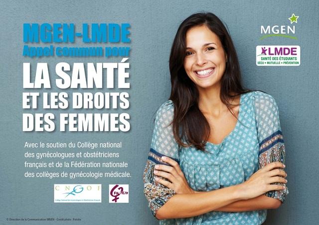 La MGEN et la LMDE militent pour la santé des femmes santé femmes1