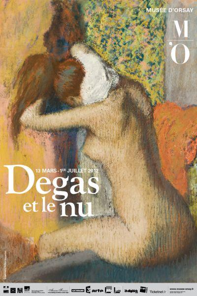 Degas et le nu, lexposition du Musée dOrsay affichedegasetlenu