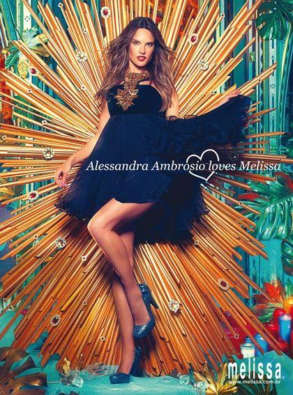 alessandra ambrosio melissa Melissa lancera une collection avec le top Alessandra Ambrósio