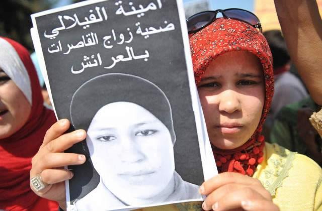 Amina Al Filali se suicide après avoir été mariée à son violeur