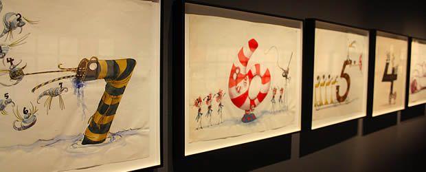 Exposition Tim Burton à la Cinémathèque de Paris chiffres