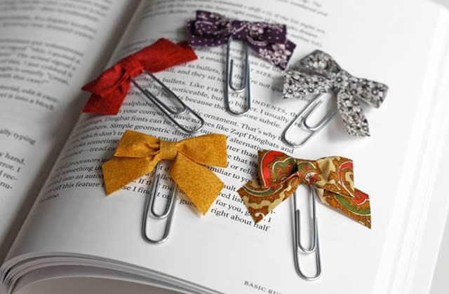 Atelier custo : les marque-pages