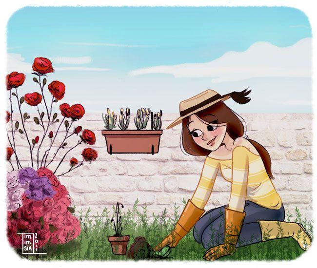 jardin1 Créer et soccuper dun petit potager 100% bio