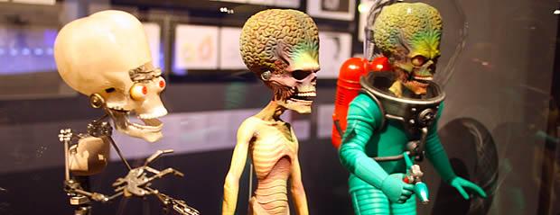 Exposition Tim Burton à la Cinémathèque de Paris marsattacks