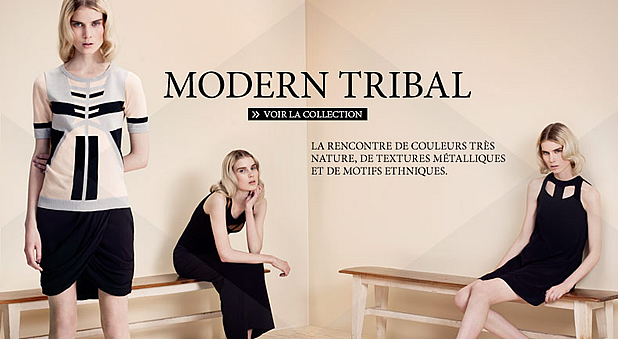 Zalando lance sa propre collection de vêtements et daccessoires modern tribal collection zalando