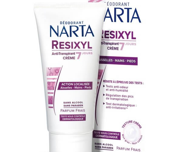 Assez Narta et la première crème anti-transpirante dispo en supermarché ME23