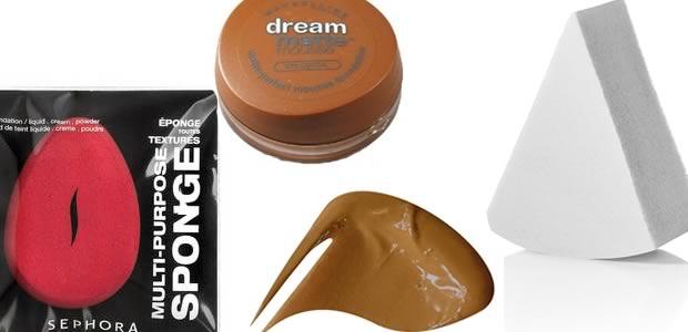 pinceau Maquillage du teint : Houppette, Pinceau ou Eponge ?