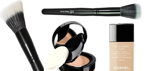 pinceau2 Maquillage du teint : Houppette, Pinceau ou Eponge ?