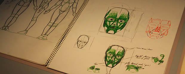 planchesanatomiques Exposition Tim Burton à la Cinémathèque de Paris