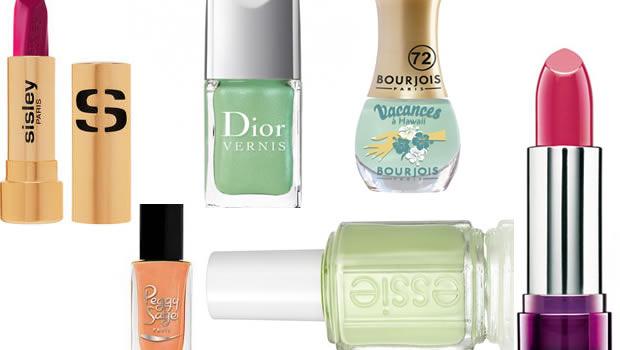 printemps1 10 produits de beauté indispensables pour le printemps 2012