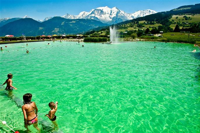 Le saviez vous ? #14 se baigner dans des eaux couleur menthe a l eau avec vue sur le toit de l europe occidentale est un
