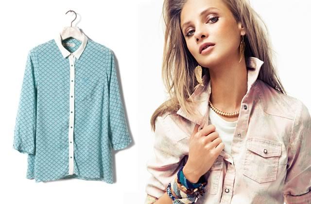 20 chemises à shopper pour le printemps