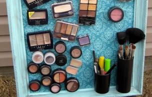 Lien permanent vers Un tableau magnétique pour produits de maquillage