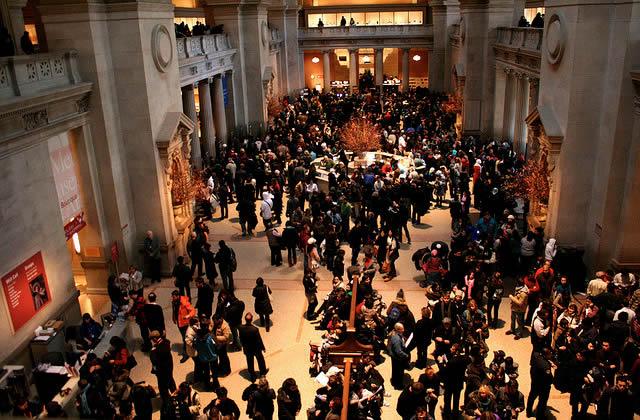 Typologie des visiteurs d'exposition