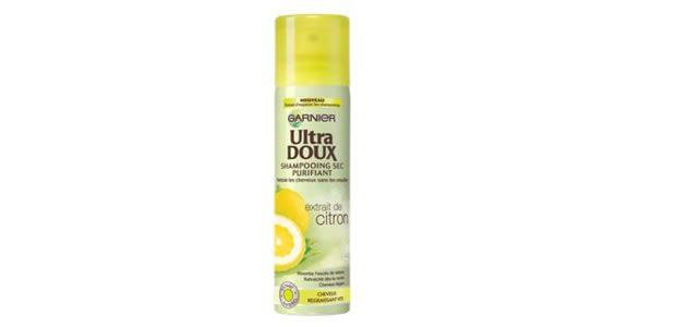 ultradoux Le shampoing sec arrive enfin en grandes surfaces, avec Garnier