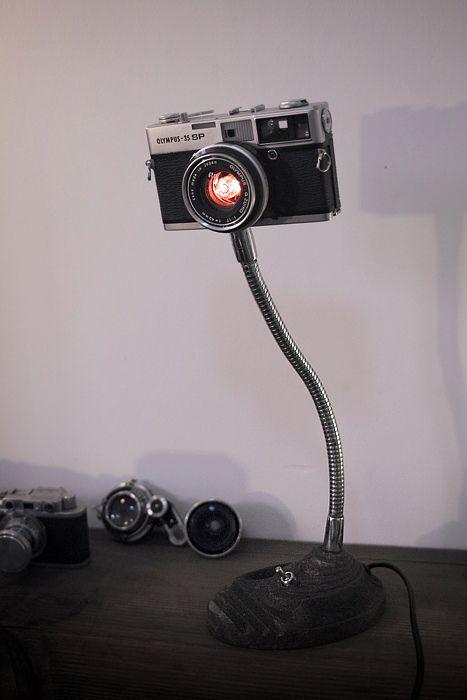 Les trouvailles d 39 internet pour bien commencer la semaine 78 - Lampe de photographe ...