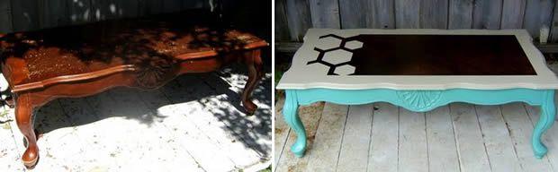 Petits espaces & petits budgets : customiser de vieux meubles afterbefore2