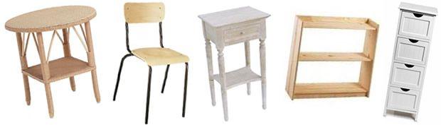 Petits espaces & petits budgets : customiser de vieux meubles ashopper