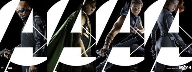 Nick Fury, Loki, Hawkeye et Black Widow
