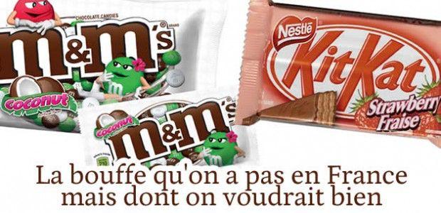 La bouffe qu'on a pas en France, mais dont on voudrait bien