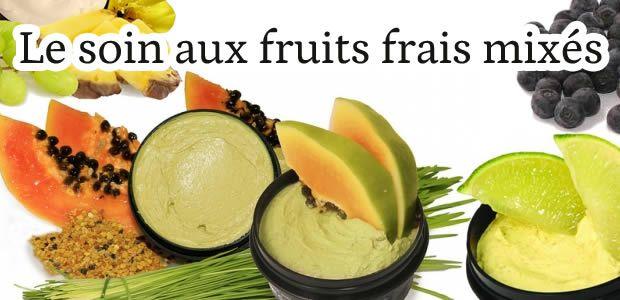 J'ai testé pour vous : le soin aux fruits frais mixés