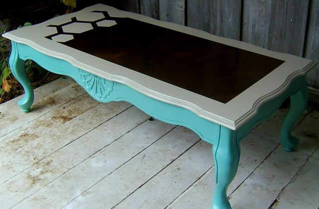Customiser de vieux meubles - Customiser table en verre ...