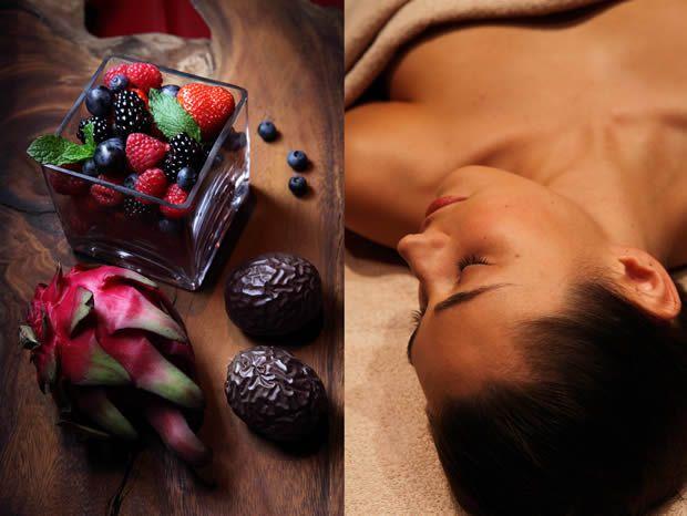 fruit2 Jai testé pour vous : le soin aux fruits frais mixés