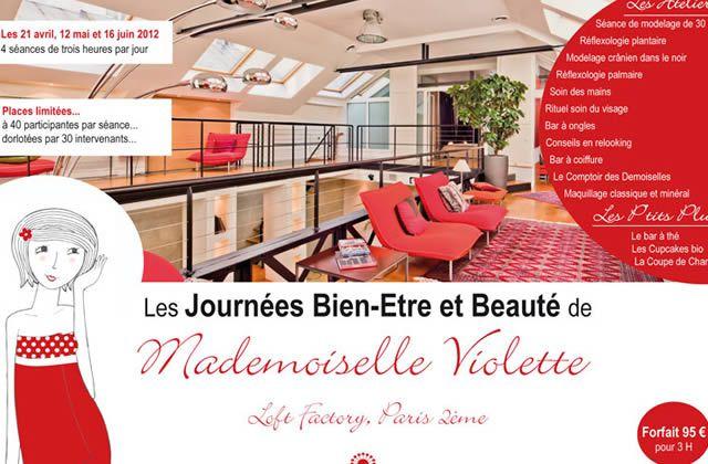 La journée beauté de Mademoiselle Violette : reportage