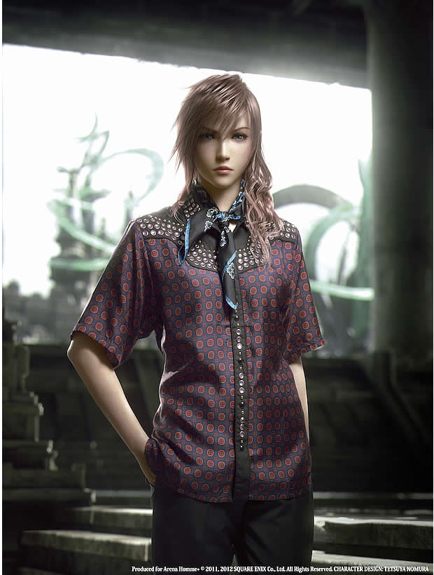 Prada sincruste dans Final Fantasy XIII 2 lightning prada