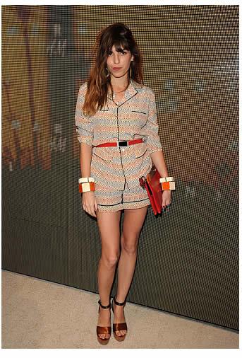 lou doillon marni hm Rihanna en pyjama : que penses tu de la tendance ?