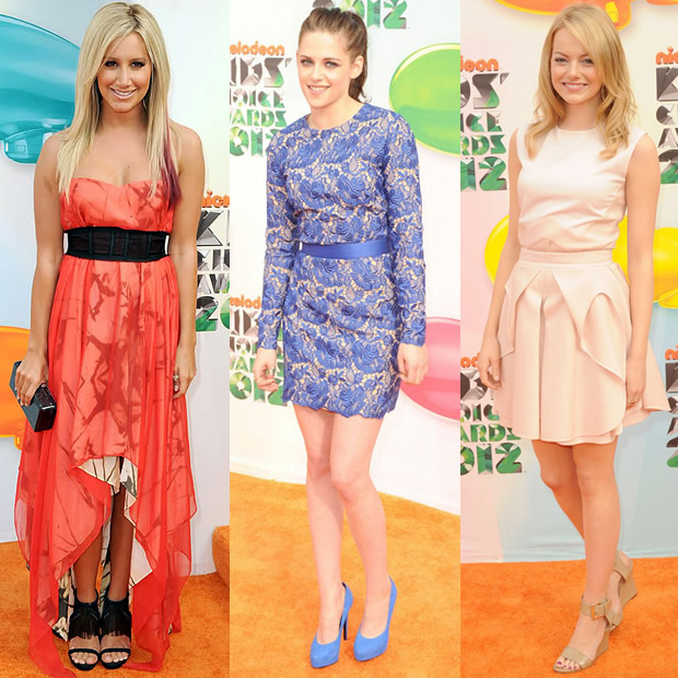Conseils pour adopter les tenues des Nickelodeon Kids Choice Awards 2012 robes nickelodeon 1