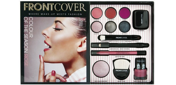 Colour of the season rose, le coffret Front Cover qui a tout bon rose front cover