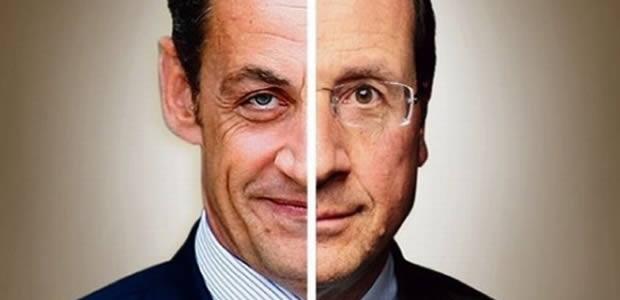 La baffe et la balafre   Laprès premier tour des Présidentielles 2012 sarkohollande