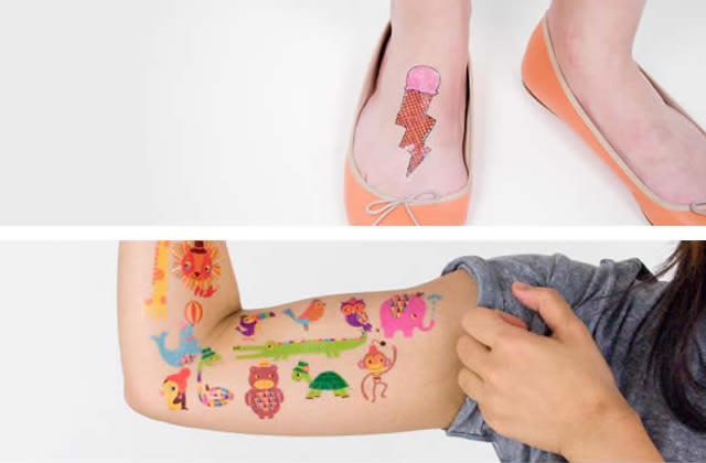 Tattly / Bernard Forever : des tattoos temporaires fun à foison