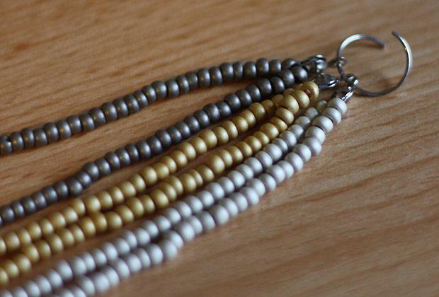 Tuto Collier En Perles De Rocaille : Tuto bijoux perles de rocaille mon premier collier au