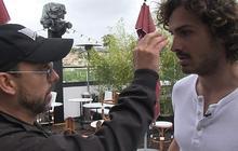 Cannes 2012 Jour 5 – Maxime en casting avec Maurice Barthélémy