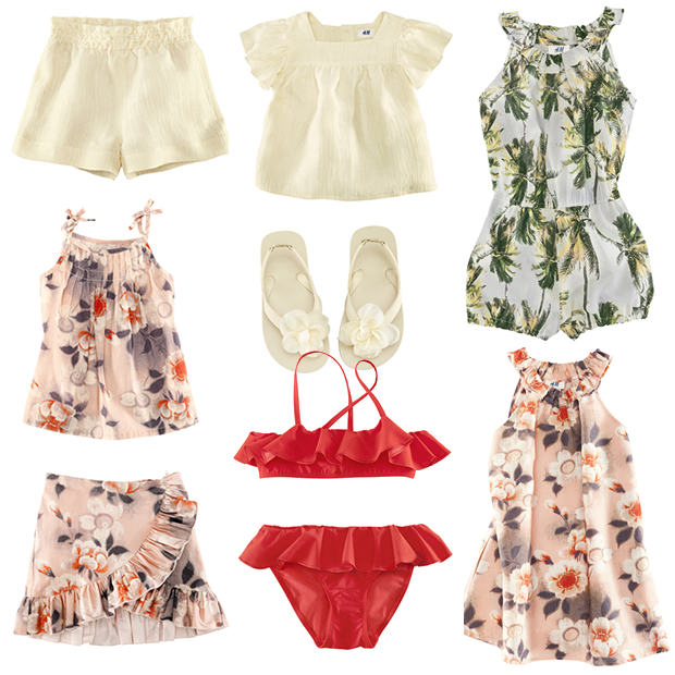 H&M for Water 2012, la collection partenaire de WaterAids hm wateraids petite fille