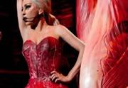 Lien permanent vers Lady Gaga porte une nouvelle robe viande à Tokyo