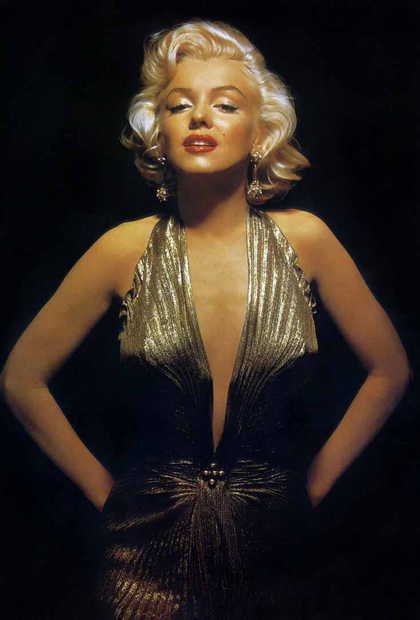 Le Style Marilyn, dAndrew Hansford  robe marilyn travilla