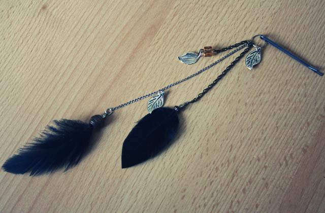 Tuto – Une épingle à cheveux hippie