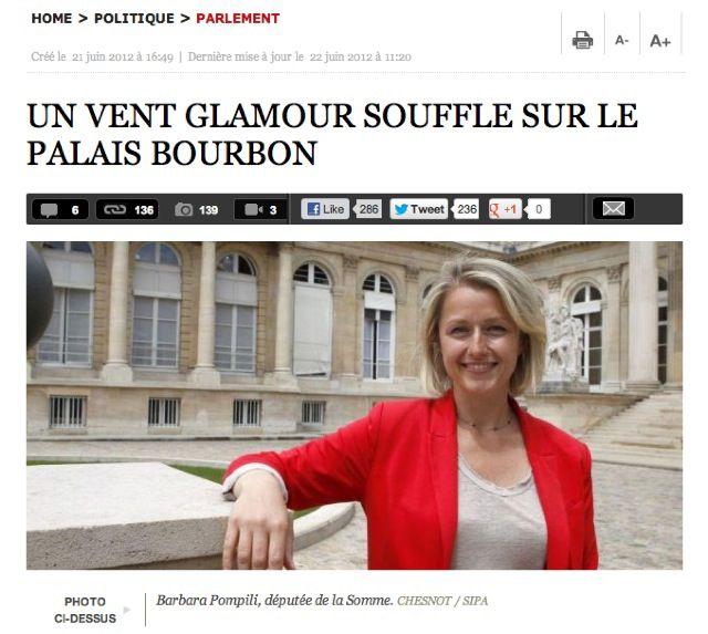 « Les plus jolies femmes de l'Assemblée nationale » : Direct Matin accusé de sexisme DirectMatin