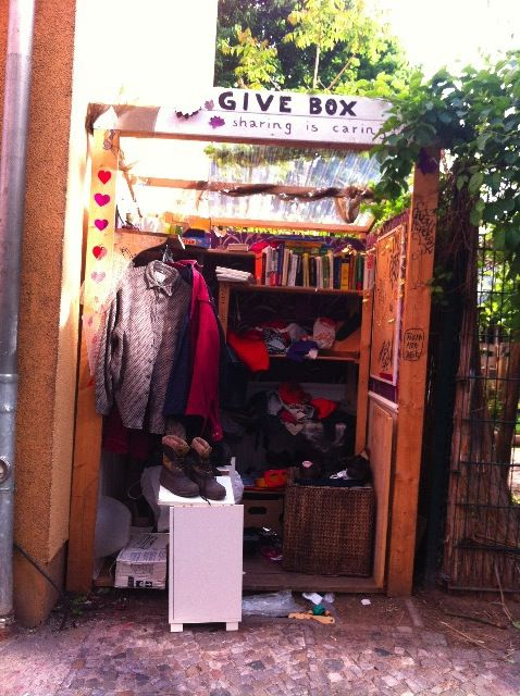 Étrangetés visuelles #1 GiveBox