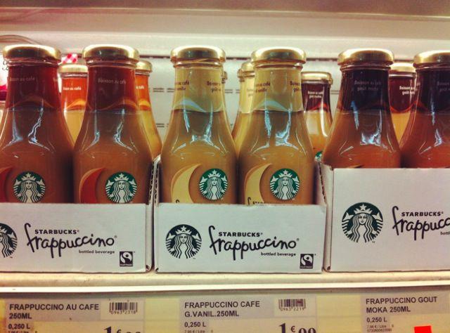 Étrangetés visuelles #1 Starbucks