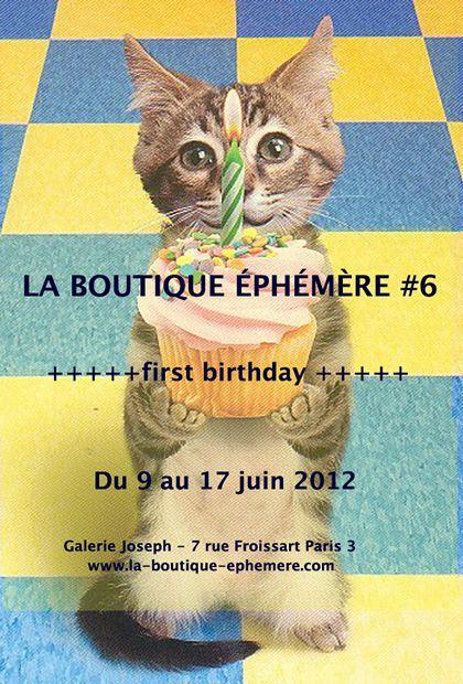 boutique ephemere La Boutique Éphémère fête son premier anniversaire
