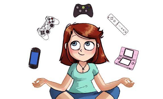Le dessin de Timtimsia – Les jeux vidéo