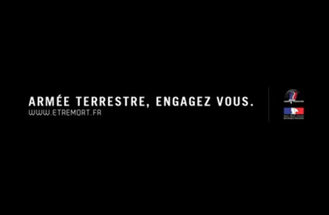 Etremort.fr, une parodie de spot pour l'Armée de Terre pour dénoncer la société du spectacle