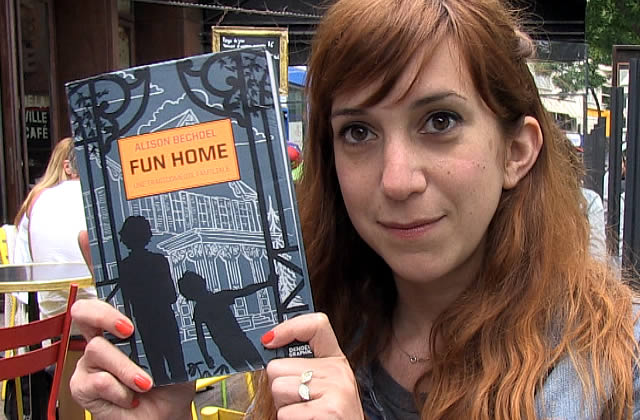 fun home by alison bechdel essay For instance, in fun home: a family tragicomic, author alison bechdel shows some youth experiences like her faltering relationship with her father, the breakdown of her parents' marriage, and her own explorations of sexuality with one of the most intelligent and insightful autobiographical comics.