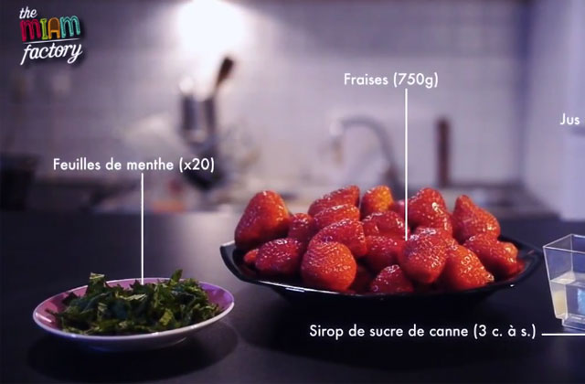 The Miam Factory #7 : Autour de la fraise