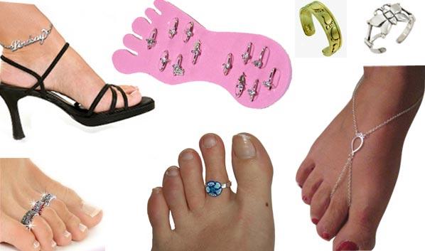 Bagues orteils Les WTF mode dété pour tes pieds